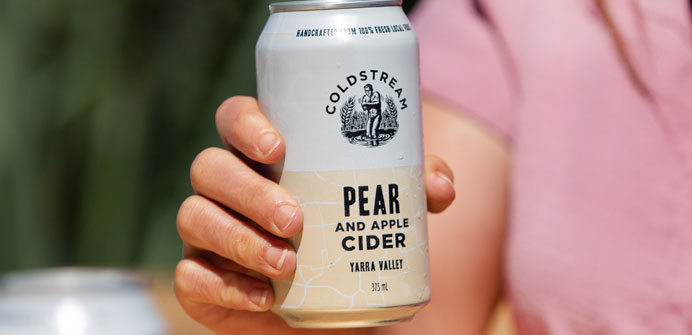 Coldstream Brewery Pear and Apple Cider
